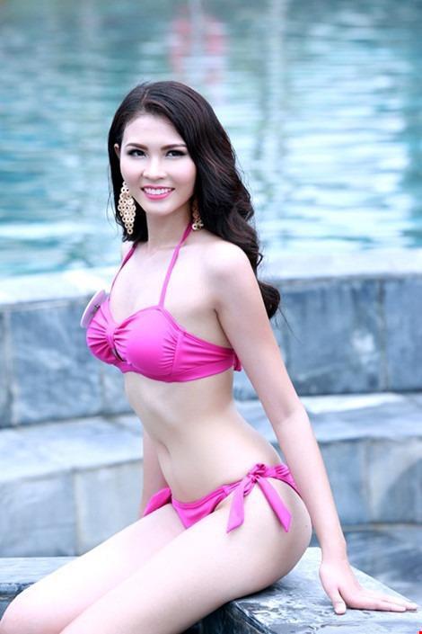 Người đẹp biển cuộc thi Hoa hậu Bản sắc Việt 2016 Nguyễn Thị Tuyết Anh