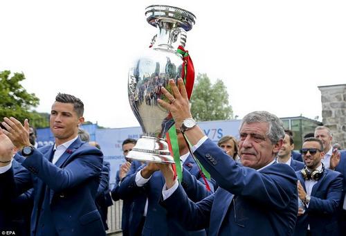 HLV Fernando Santos - kiến trúc sư cho chiến thắng kỳ vĩ tại Euro 2016