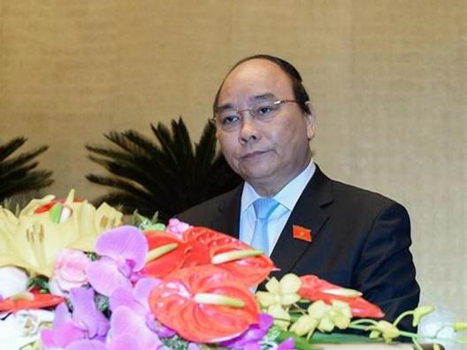Uỷ viên Bộ Chính trị, Phó Thủ tướng Nguyễn Xuân Phúc được giới thiệu bầu làm Thủ tướng Chính phủ mới