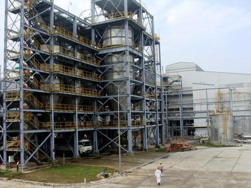 Nhà máy nhiên liệu sinh học Bio-Ethanol Dung Quất đã ngừng hoạt động 1 năm quaẢnh: Tử Trực