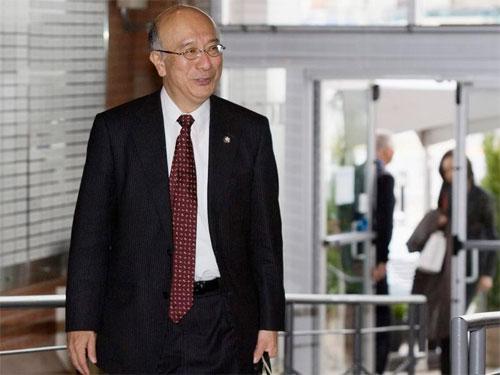 Đại sứ Nhật Bản Koro Bessho. Ảnh: AP