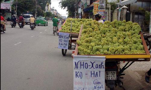 Những loại trái cây Trung Quốc đội lốt hàng Việt