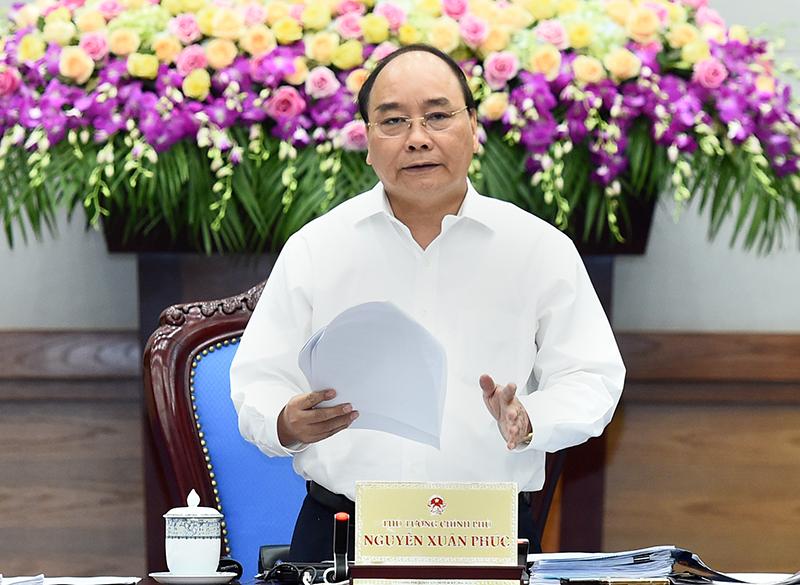 Thủ tướng Nguyễn Xuân Phúc yêu cầu Bộ TN-MT làm rõ trách nhiệm của ngành trong vụ Formosa - Ảnh: Quang Hiếu
