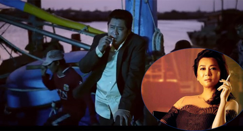 Trong trailer phim cũng có cảnh diễn viên hút thuốc
