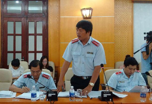 Ông Ngô Mạnh Hùng, Phó Cục trưởng Cục phòng chống tham nhũng (TTCP), trả lời Báo Người Lao Động