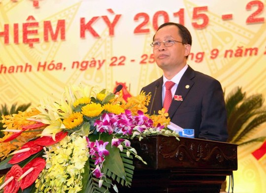 Ông Trịnh Văn Chiến, Ủy viên Trung ương Đảng, Bí thư Tỉnh ủy, tái đắc cử Chủ tịch HĐND tỉnh Thanh Hóa nhiệm kỳ 2016 - 2021