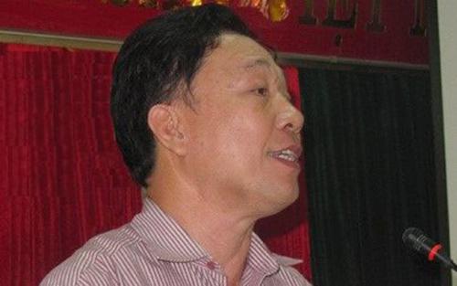 Ông Hồ Ngọc Mai trong một cuộc họp trước khi bị cách chức - Ảnh: TPO