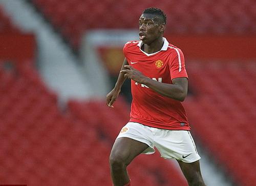 Paul Pogba từng khoác áo Man United dưới thời HLV Alex Ferguson
