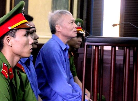 Bị cáo Phạm Văn Cử tại phiên tòa.