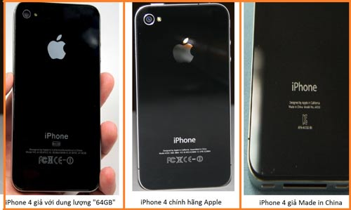 """iPhone nhái, """"dựng"""" được rao bán tràn lan trên mạng và một số cửa hàng điện thoại"""