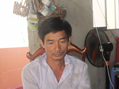 Nguyễn Văn Bình tại cơ quan công an