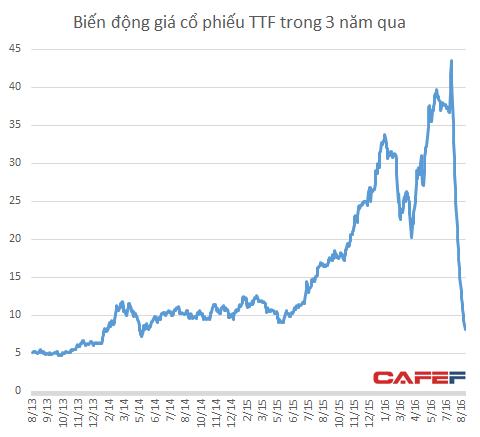 Thành quả tăng giá suốt 3 năm của TTF bị xóa sạch chỉ sau 1 tháng