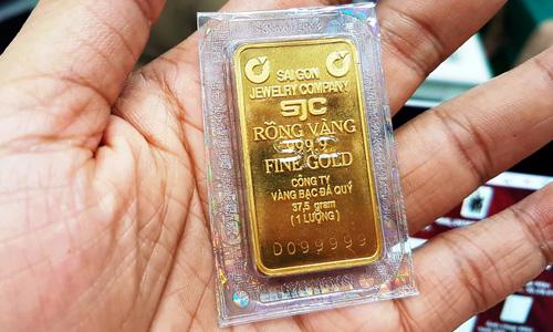 Vàng bốn số 9 có seri 99999 đã được một khách hàng giao dịch với giá 100 triệu đồng.