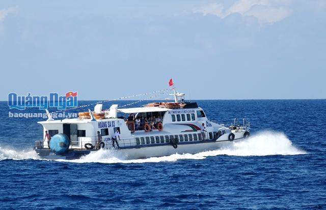 Tàu Hoàng Sa 03, nơi sản phụ Bùi Thị Kiên vượt cạn thành công