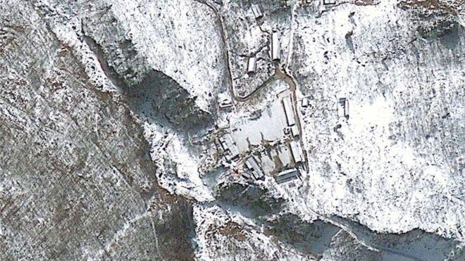Cơ sở thử nghiệm hạt nhận Punggye-ri của Triều Tiên
