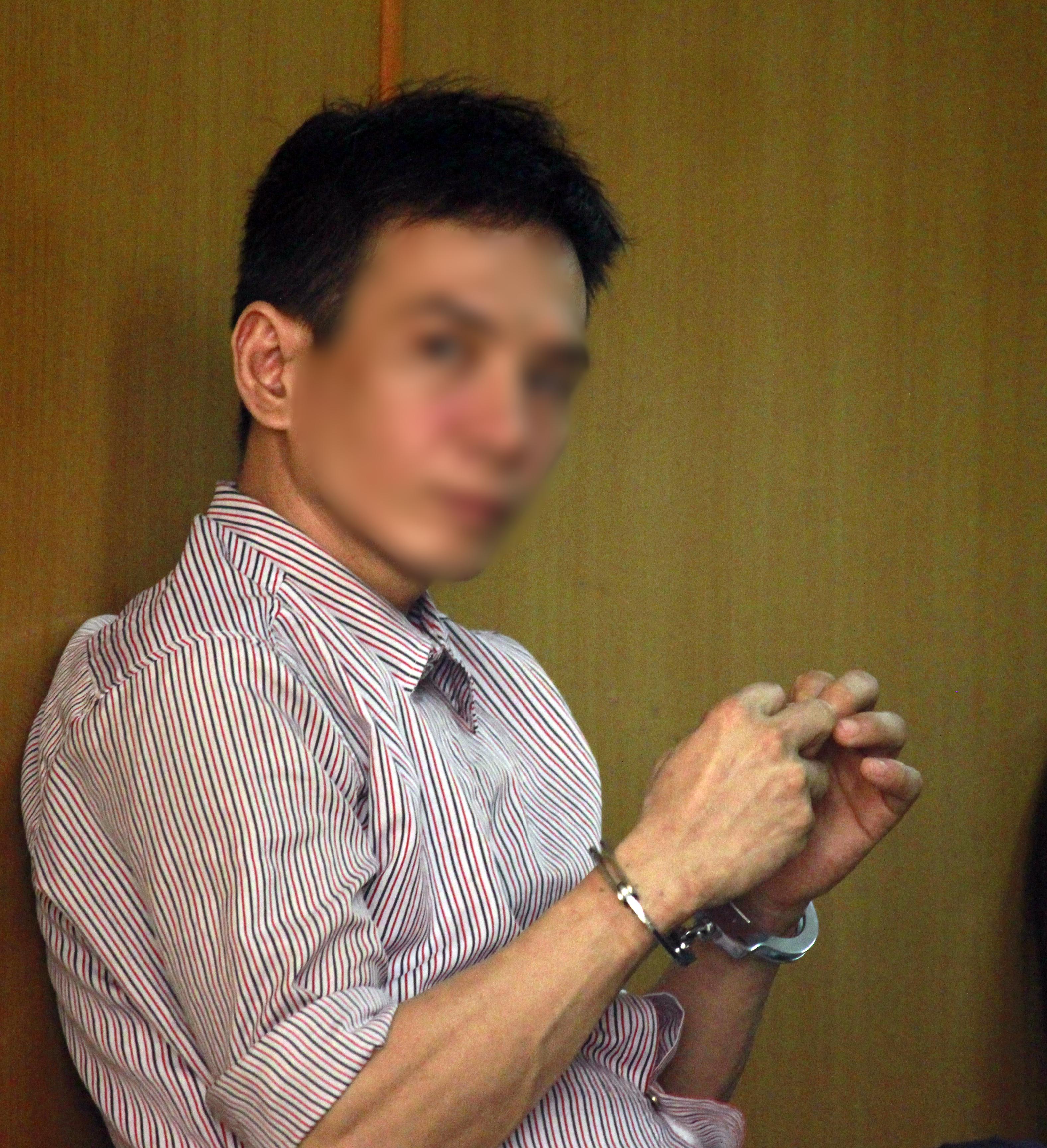 Bị cáo Nguyễn Văn Bình tại phiên tòa.