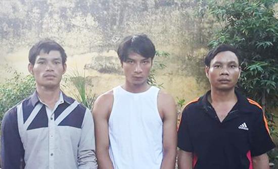 Lưu Viết Bền, Nguyễn Văn Tuấn, Nguyễn Viết Đàn tại cơ quan điều tra.