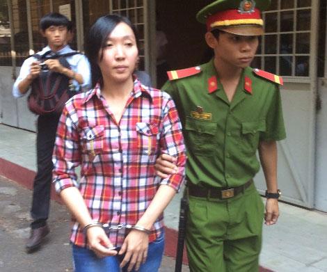 Đối tượng Trần Thị Thùy Trang.