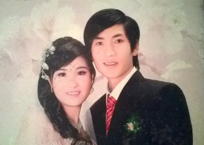 Anh Tuấn và vợ