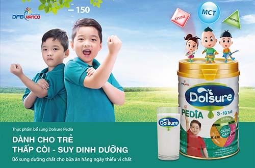Bổ sung dinh dưỡng cho trẻ thấp còi