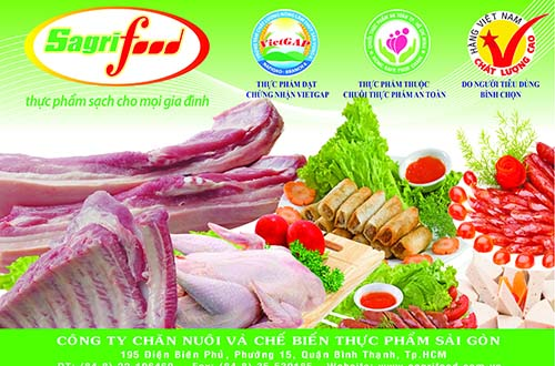 Thực phẩm sạch được sản xuất theo chuỗi khép kín