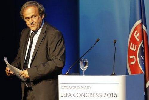 Cựu chủ tịch Michel Platini phát biểu lần sau cùng tại UEFA