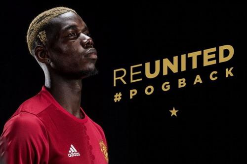 Man United vẫn tiếp tục gây sốc với bản hợp đồng kỷ lục của Paul Pogba