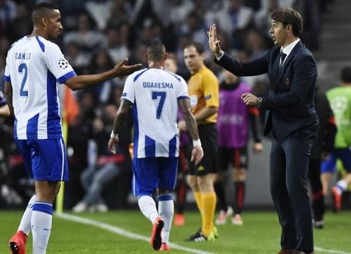 Lopetegui khi cầm quân ở FC Porto