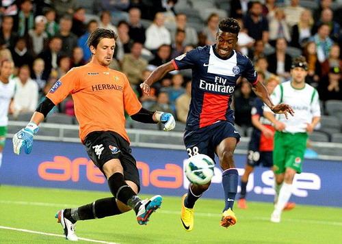 Hai lần vô địch nước Pháp cùng PSG