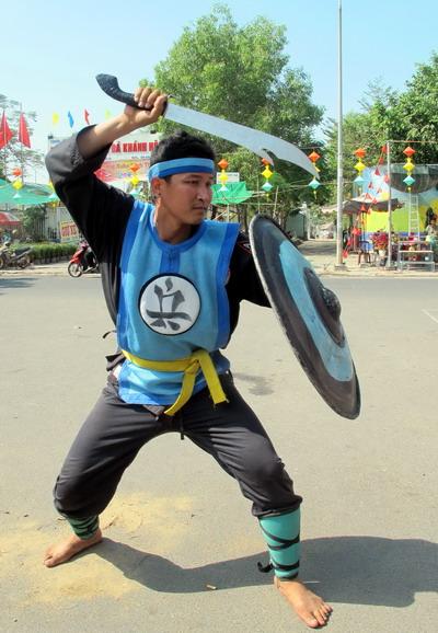 Cờ người là hình thức sáng tạo của người yêu cờ Việt Nam
