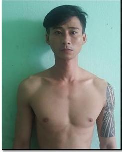 Trần Đông Quốc lúc mới bị bắt