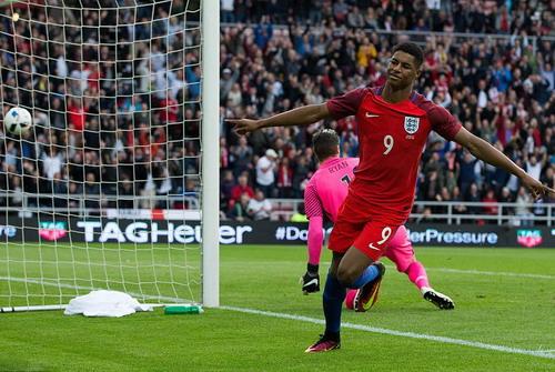 Tiền đạo 18 tuổi Rashford được trao cơ hội thi đấu tại Euro 2016