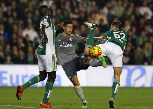 James Rodriguez không thay thế trọn vẹn vai trò của Gareth Bale