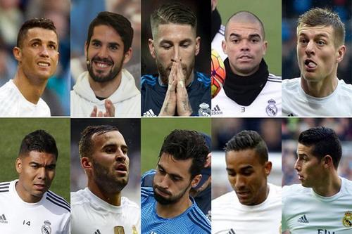 10 cầu thủ Real Madrid sẽ ra đi cuối mùa