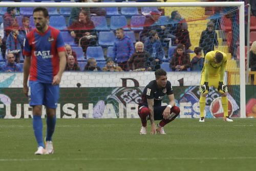 Atletico Madrid thất bại trước đối thủ đã chắc suất rớt hạng Levante