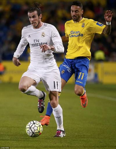 Bale chưa trở lại với phong độ tốt nhất sau chấn thương