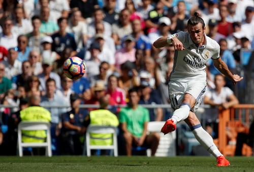 Gareth Bale năng nổ trên hàng công Real Madrid