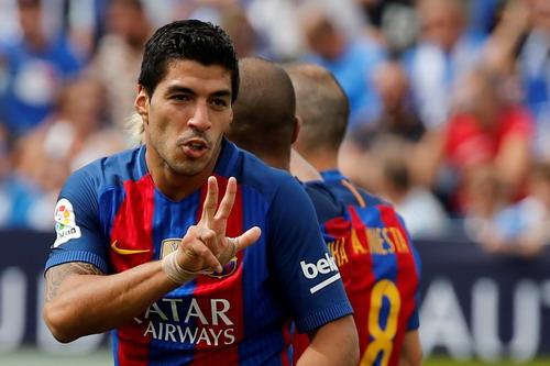 Luis Suarez lập công