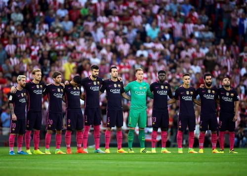 Barcelona ở trận thắng thứ 100 dưới thời HLV Enrique