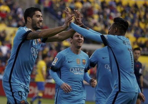 Messi, Suarez và Neymar - ba chân sút khủng của Barca