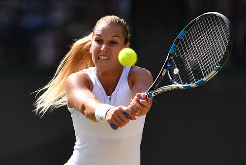 Cibulkova phải chia tay sớm Wimbledon thay vì vào đến bán kết