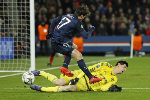 Thủ môn Courtois đã hạn chế tối đa số bàn thua của Chelsea