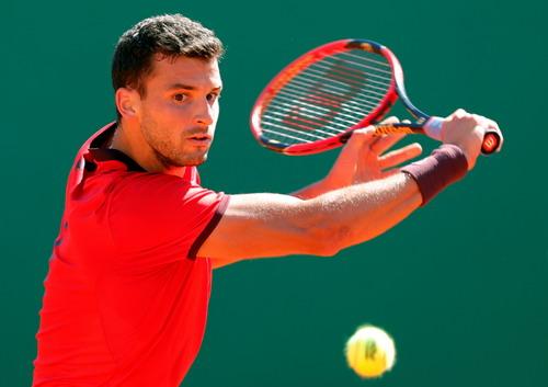 Grigor Dimitrov dừng bước sớm ở giải đấu tại Monaco