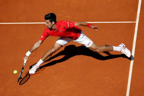 Djokovic nhạt nhòa sau hai trận đấu mở màn thiếu thuyết phục tại Rome Masters