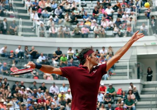 Federer là tay vợt hạt giống nam cao nhất rời giải sớm