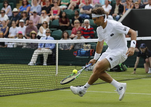 David Ferrer thua từ vòng hai trước Nicolas Mahut