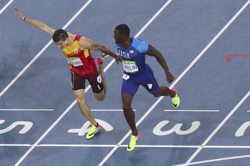 Justin Gatlin vẫn là đối thủ đáng gờm của Usain Bolt