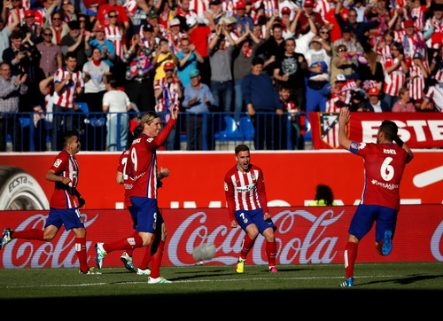 Griezmann (7) ghi bàn, Atletico quyết chiếm ngôi đầu của Barcelona