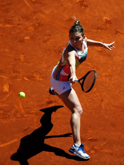 Simona Halep dừng chân tại Rome Open 2016
