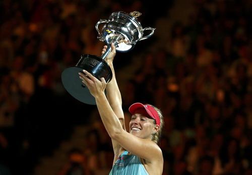 Kerber lần đầu tiên vô địch một giải Grand Slam